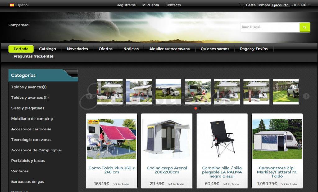 a8d8f915864 Camperdadi, Profesionales en accesorios para caravanas y autocaravanas  camper.