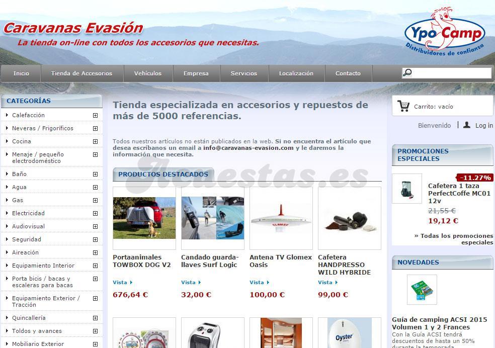 eab9d550123 Caravanas Evasion, Tienda especializada en accesorios y repuestos