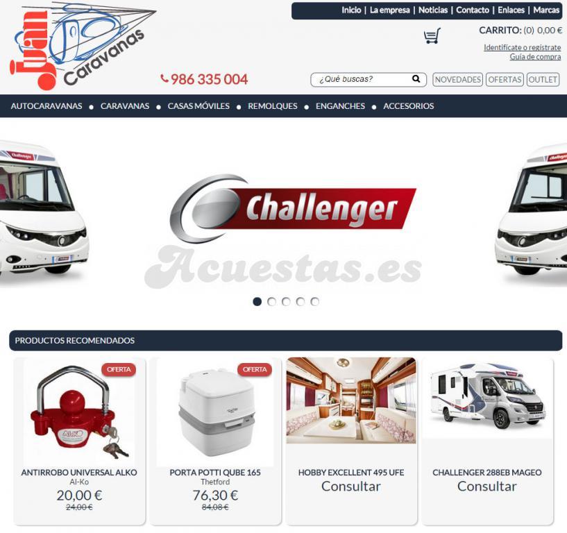 fdd3153223b Caravanas Juan, Tienda especializada en accesorios y repuestos