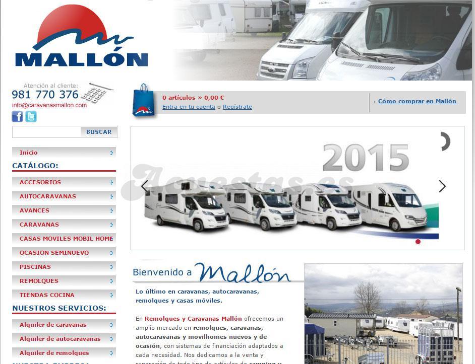4f2ff158e08 Caravanas Mallon, Tienda especializada en accesorios y repuestos