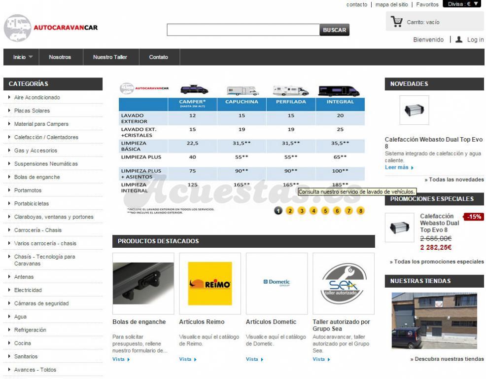 1890bc6f126 Tiendas online de accesorios españolas | acuestas.es