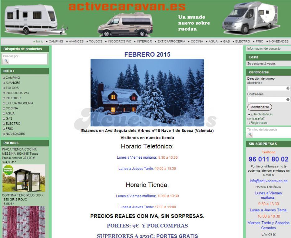 78163e55f65 Tiendas Online Accesorios Autocaravana/Camper/Caravana España