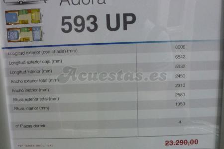 Adria Adora 593 UP