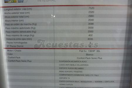 Adria Sonic Plus I 700 SBC