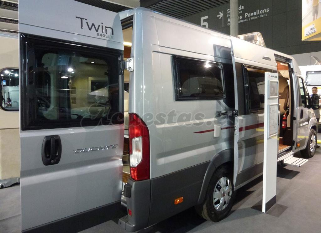 Adria Twin 640 SLX