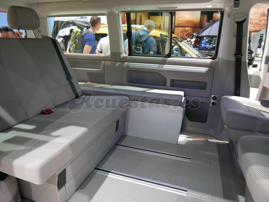 furgoneta camper volkswagen t6. Black Bedroom Furniture Sets. Home Design Ideas