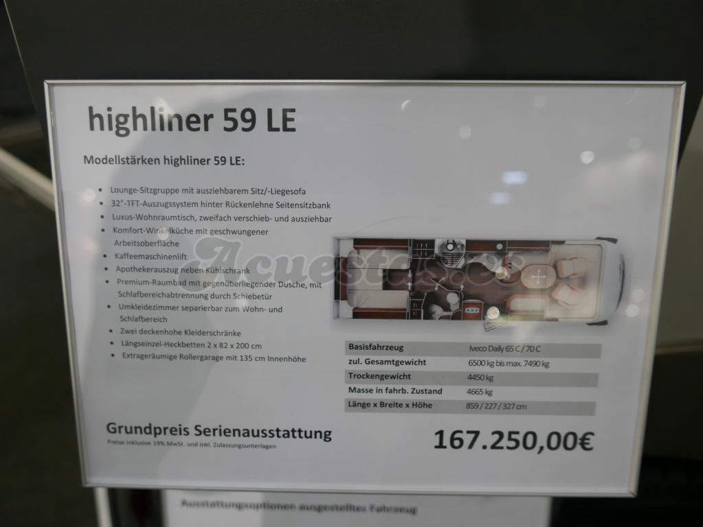 Carthago Highliner 59 LE