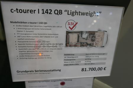 Carthago C Tourer I 142 QB