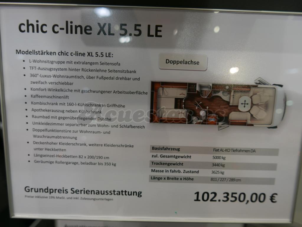 Carthago Chic C-Line XL 5.5 LE
