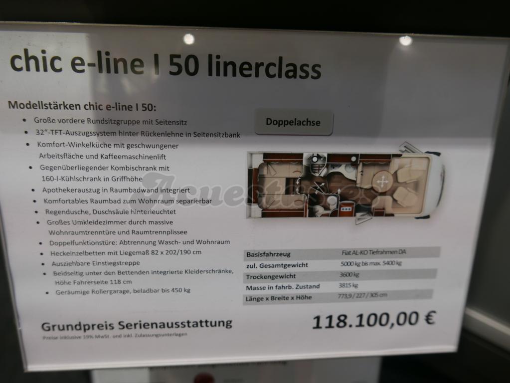 Carthago Chic E-Line I 50 linerclass