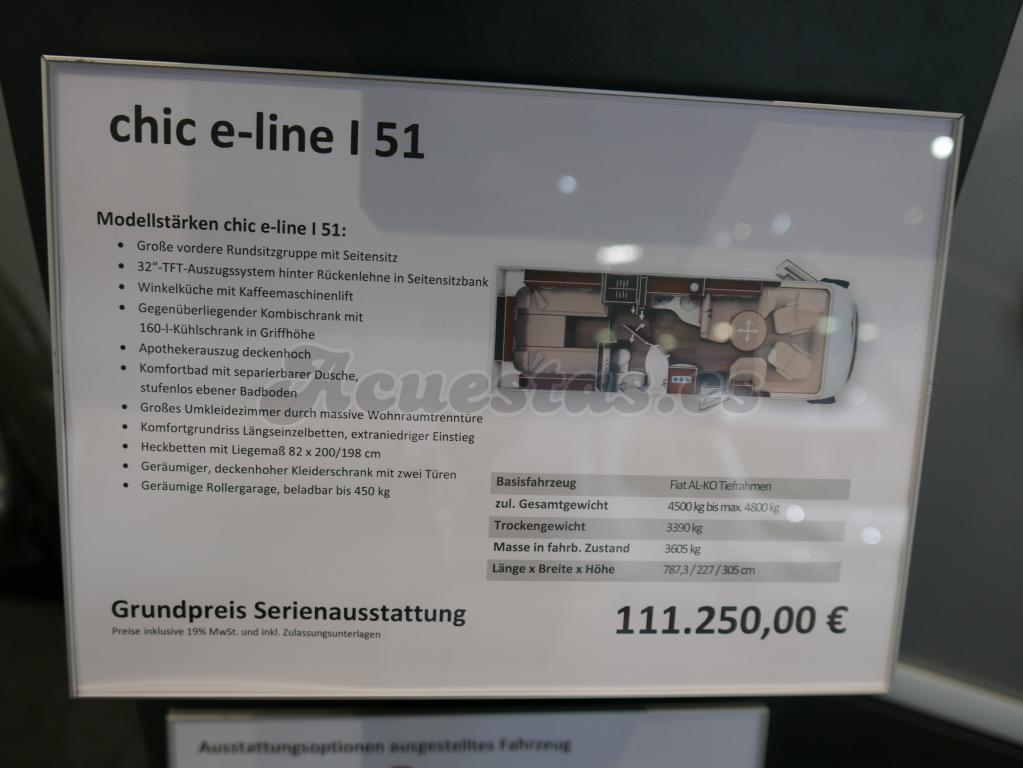 Carthago Chic E-Line I 51