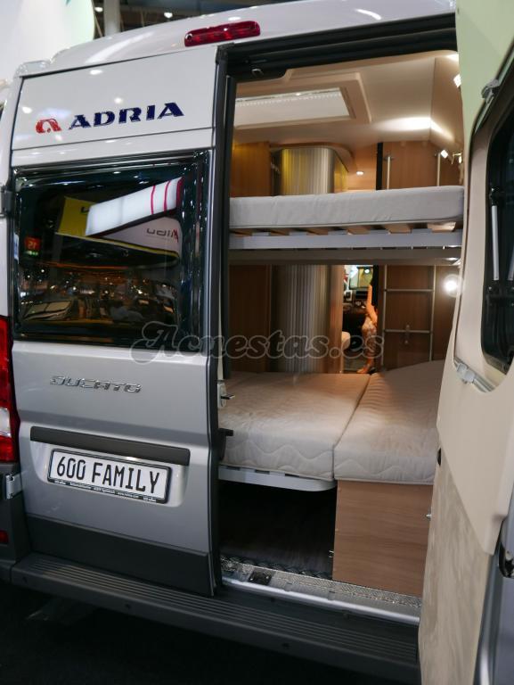 Adria Twin 600 SPT Family
