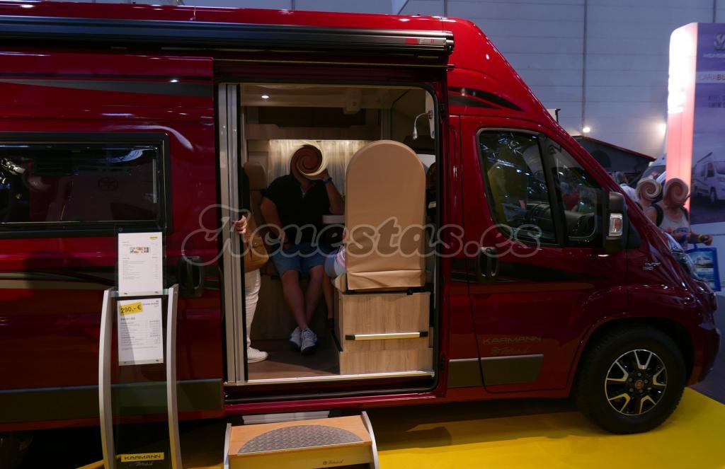 Furgoneta Camper Karmann Mobil Dexter | acuestas es