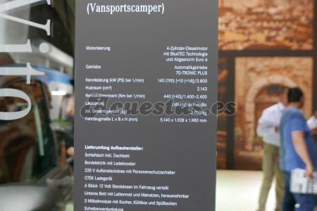 Mercedes Vito Vansportscamper
