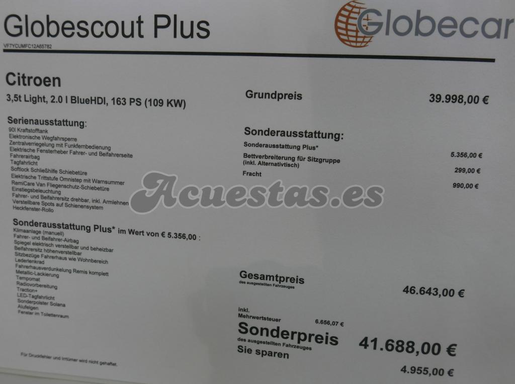 Globecar Globescout Plus
