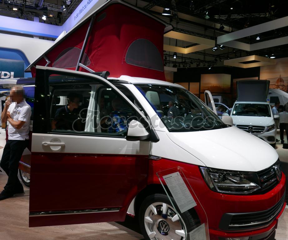 Volkswagen T6 California Ocean Red