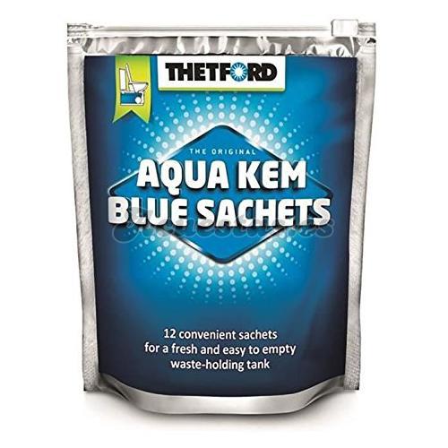 12 Bolsitas Thetford Aqua Kem Blue Sachets