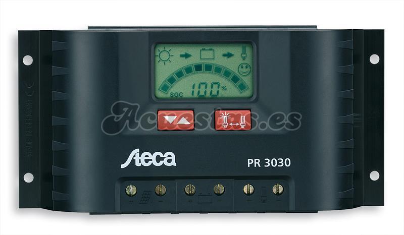 Regulador Solar Steca PR 3030 30A