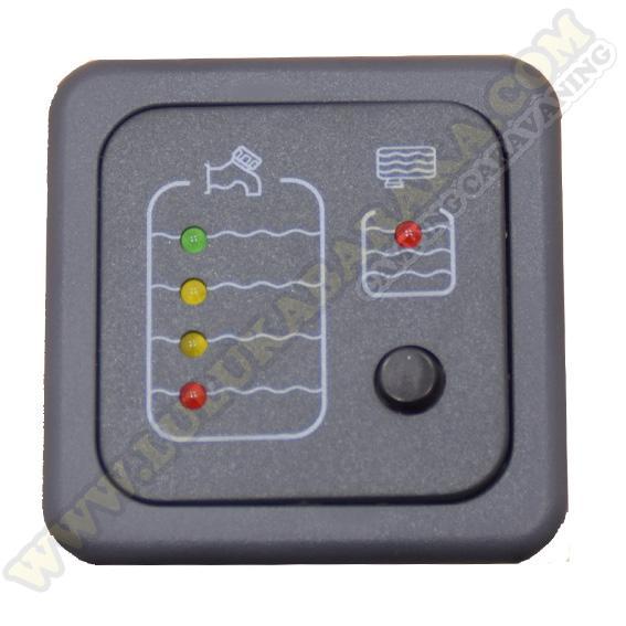 Panel indicador aguas limpias y sucias con sonda