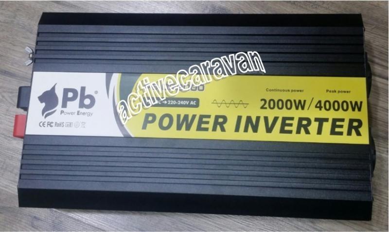 Inversor onda senoidal pura 12v a 220v 2000w power energy