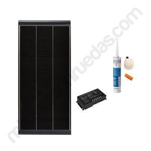 Kit Placa Solar Vechline Deep Power 150W Regulador MPPT