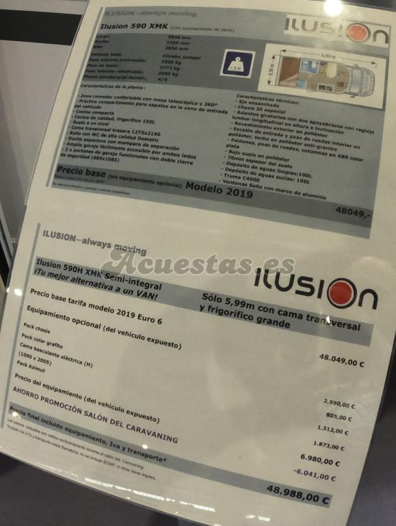 Ilusion 590 XMK