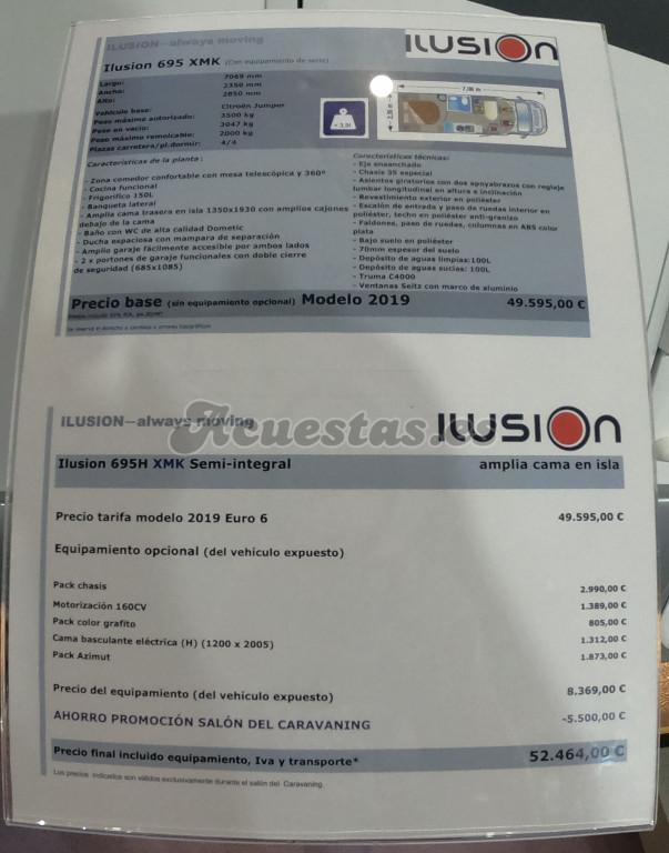 Ilusion 695 XMK