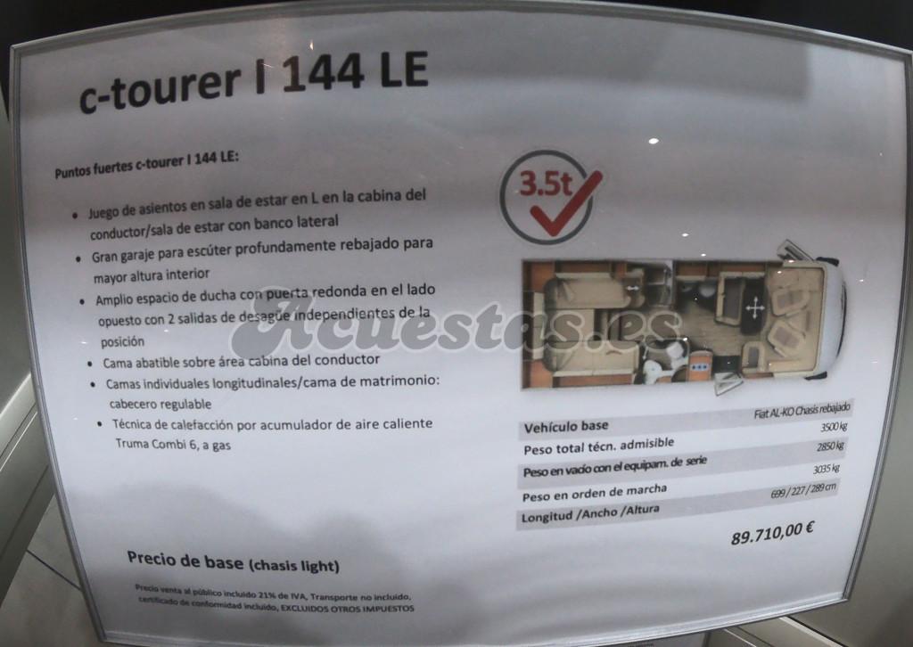 Carthago C Tourer I 144 LE Lightweight