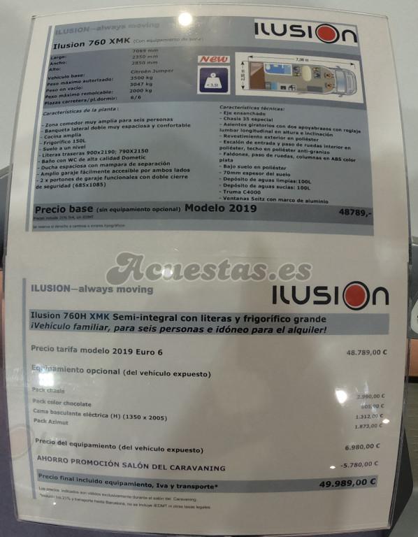 Ilusion 760 XMK