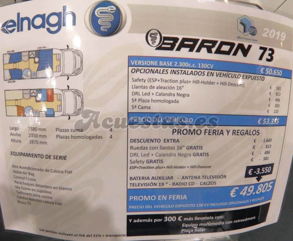 Elnagh Baron 73