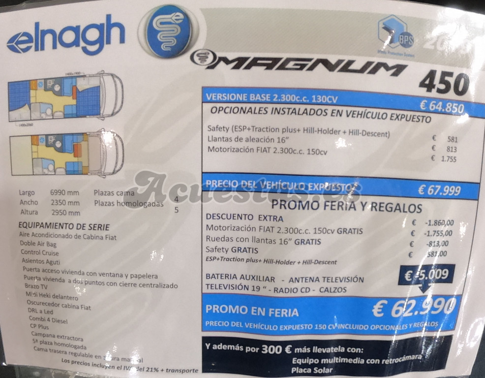 Elnagh Magnum 450