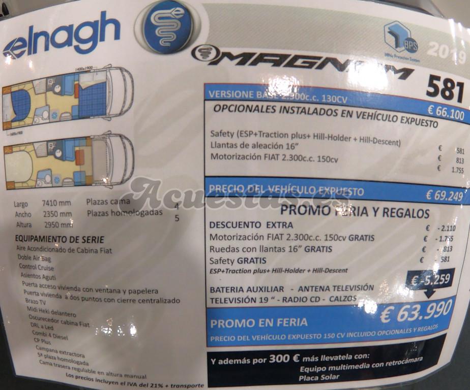 Elnagh Magnum 581