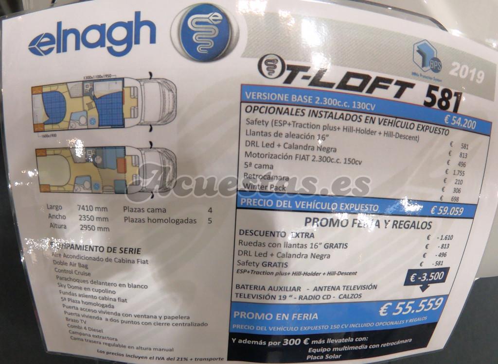 Elnagh T-Loft 581