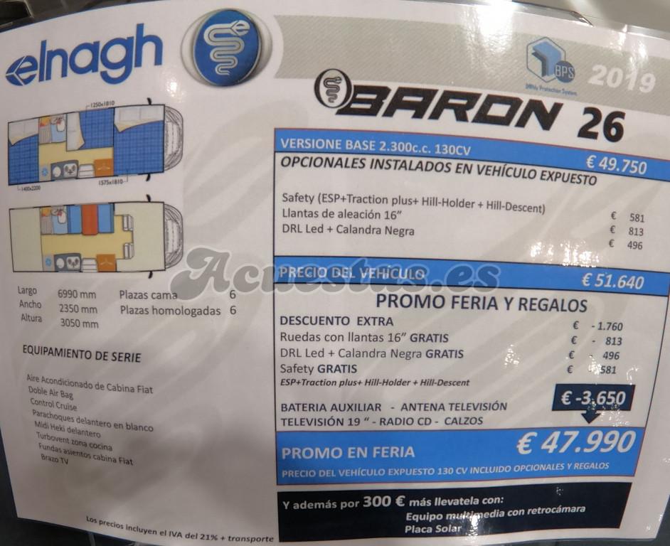 Elnagh Baron 26