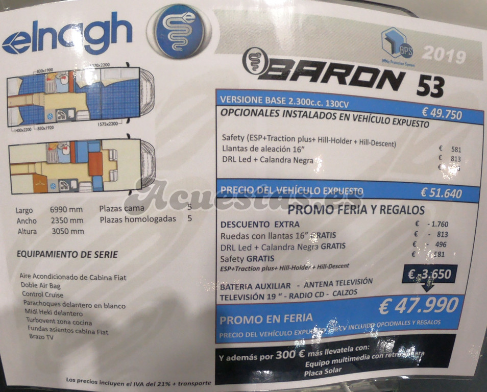Elnagh Baron 53