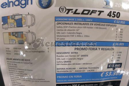 Elnagh T-Loft 450
