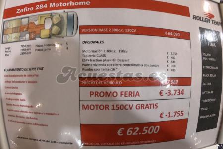 Roller Team Zefiro 284 Motorhome