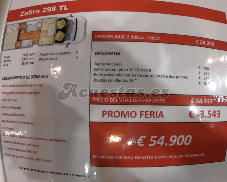 Roller Team Zefiro 298 TL