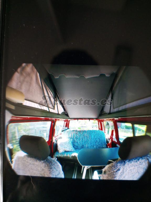 Volkswagen Multivan con techo